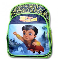 Supre Bheem School Bag - Blue and Green