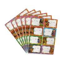 Chhota Bheem Book Label