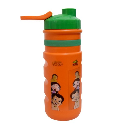Chhota Bheem Sports Bottle - Green and Orange