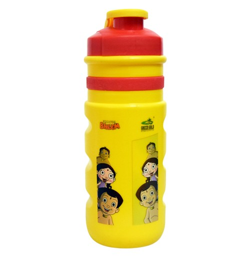 Chhota Bheem Sports Bottle - Red and Yellow
