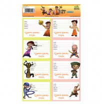 Chhota Bheem and The Curse Of Damyaan - School Labels