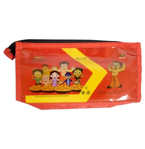 Chhota Bheem Red Pouch