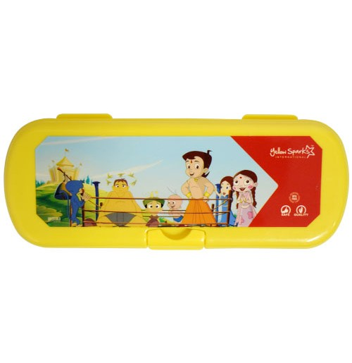 Chhota Bheem Pencil Box Yellow
