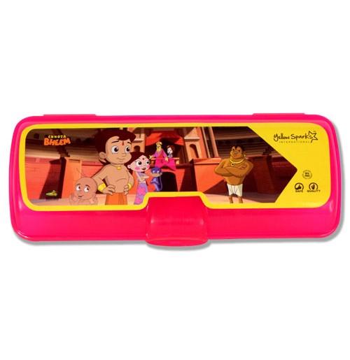 Chhota Bheem Pencil Box Pink