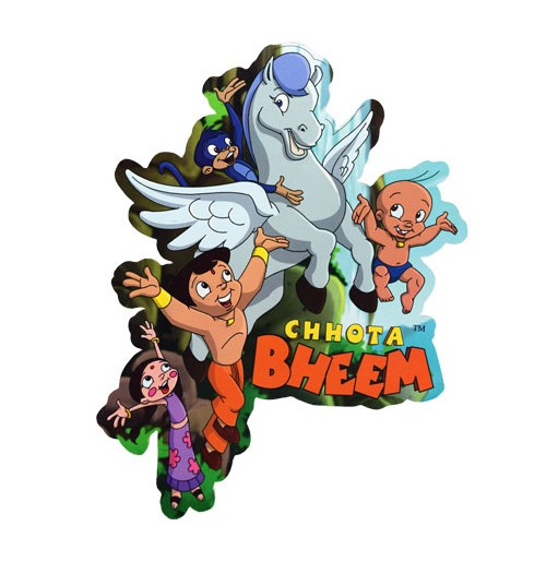Chhota Bheem Wooden Cutout - Flying Horse