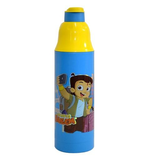 Chhota Bheem Water Bottle Blue and Yellow1