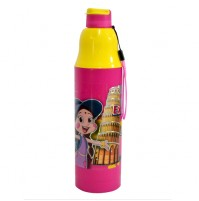 Chhota Bheem Water Bottle Pink and Yellow1