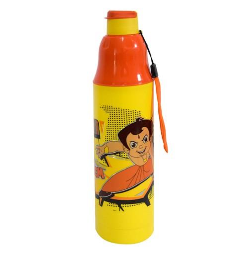 Chhota Bheem Water Bottle Orange and Yellow1