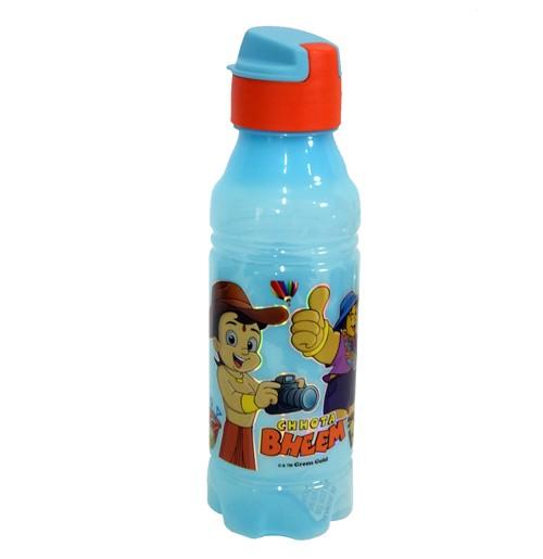 Chhota Bheem Water Bottle Light Blue and Orange