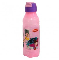 Chhota Bheem Water Bottle Pink and Purple