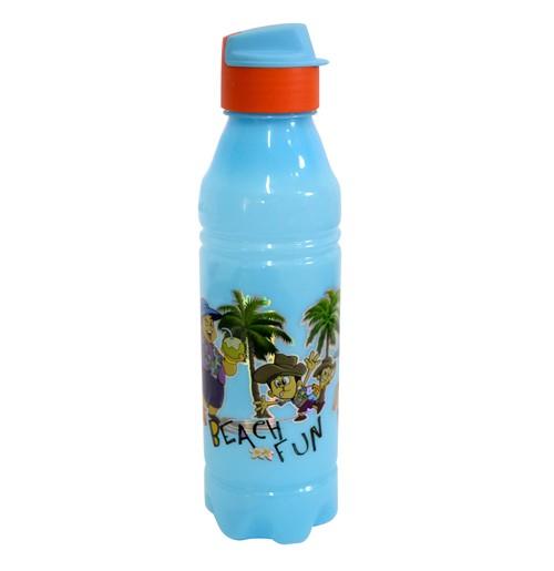 Chhota Bheem Water Bottle Light Blue and Orange1