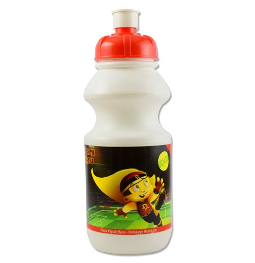 Mighty Raju Water Bottle - White