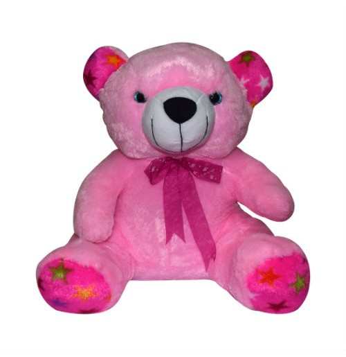 24 Inch Valentines Day Offers on Scarf Teddy Bear Light Pink