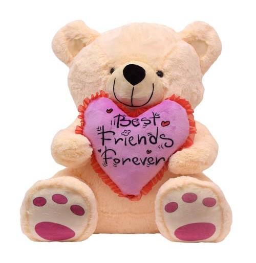 16 Inch Teddy Bear With Heart