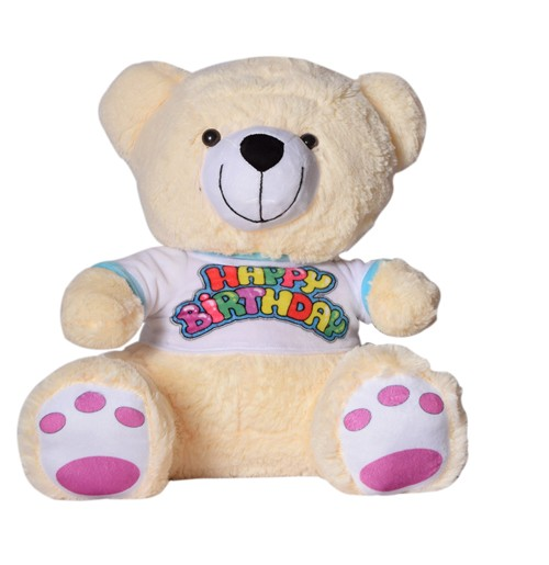 24 Inch T shirt Teddy Cream