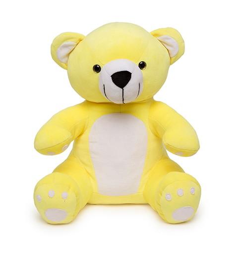 Soft Hug Teddy bear Yellow 36 Cm