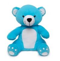 Soft Hug Teddy bear Blue 36 Cm