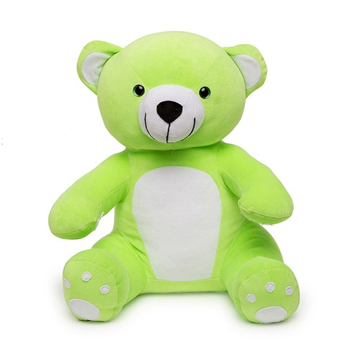 Soft Hug Teddy bear Green 36 Cm