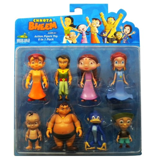Action Figure 8-IN-1 Set (with Arjun)