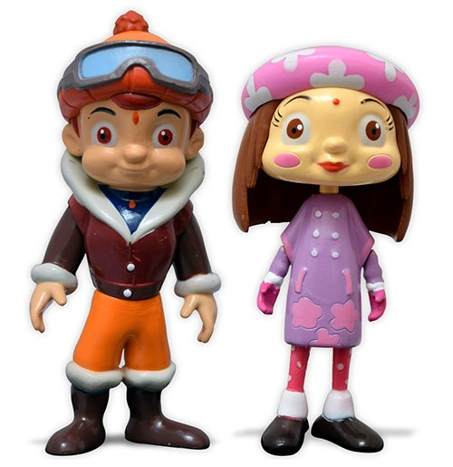 Chhota Bheem and Chutki Action Toy