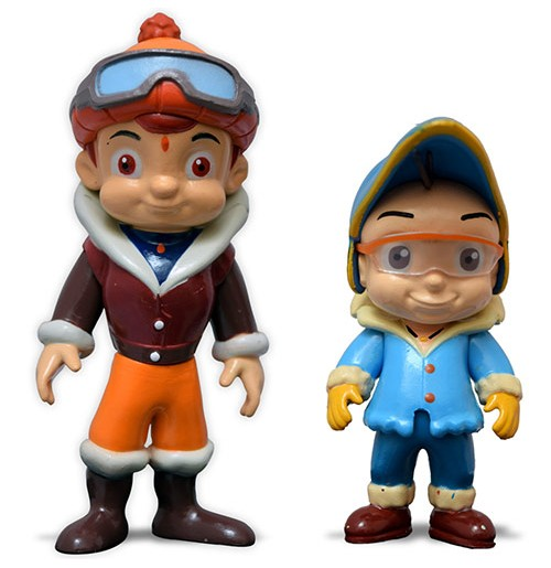 Chhota Bheem and Raju Action Toy