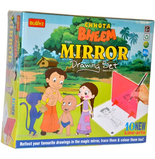 Chhota bheem Mirror Drawing Set