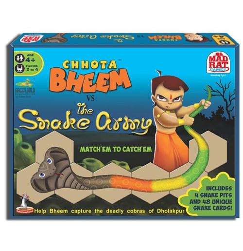 Chhota Bheem Vs The Snake Army