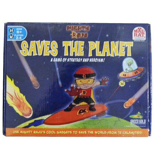 Mighty Raju Saves The Planet