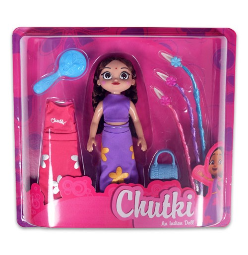 Chutki Doll With Accessories and Dress