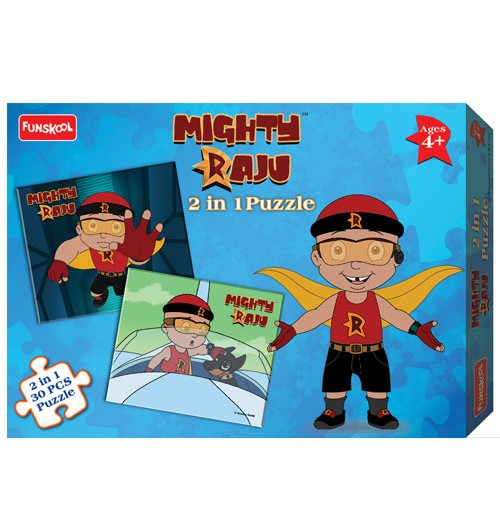 Mighty Raju 2-IN-1 Puzzle - 2217