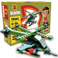 R BLOCKS - Military Helicopter