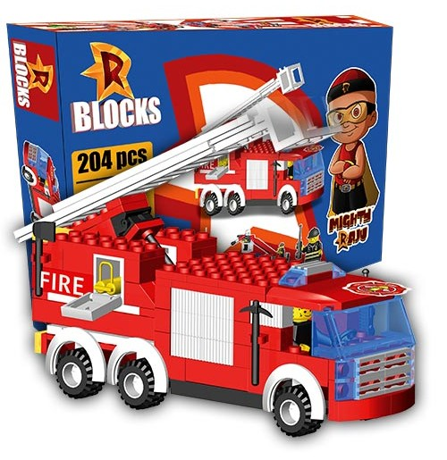 R BLOCKS - Fire Truck