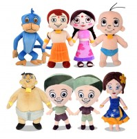 Chhota Bheem 8 in 1 Soft Plush Toys 22cm