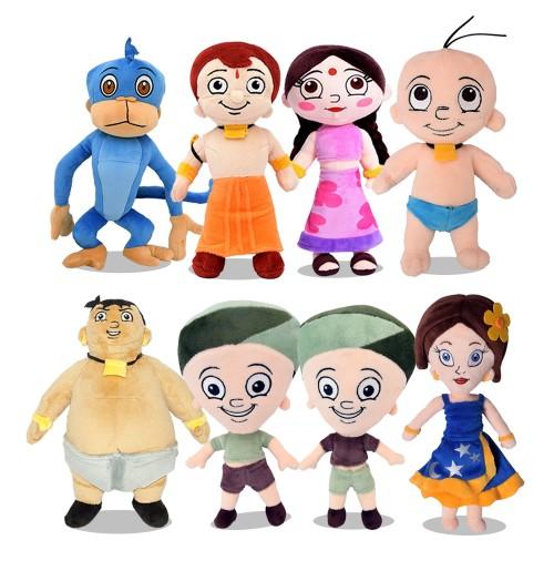 Chhota Bheem 8 in 1 Soft Plush Toys 22cm