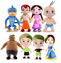 Chhota Bheem 8 in 1 Soft Plush Toys