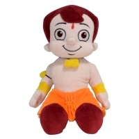 Chhota Bheem Plush Toy - Sitting - 30cm