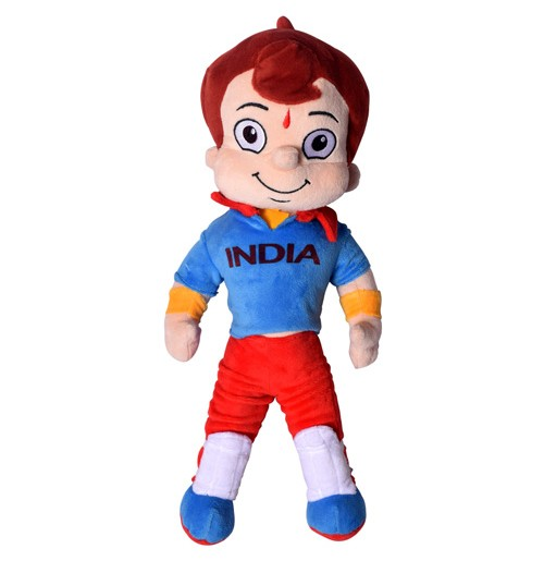 Chhota Bheem Cricket Dress - 40 cm