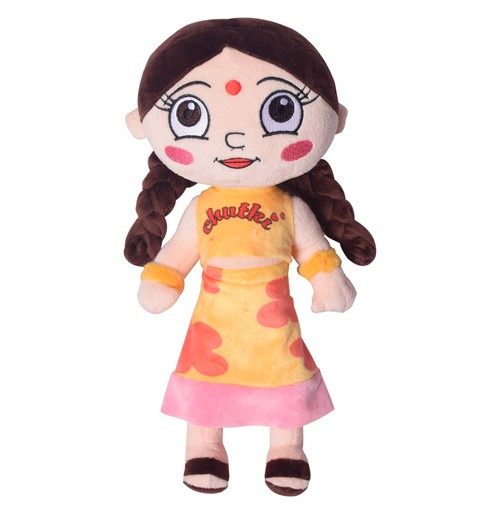 Chutki Plush Toy 33 cm - Yellow