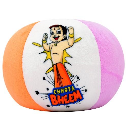 Chhota Bheem + Chutki Soft Ball - 5 Inch