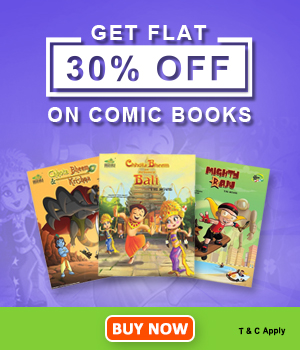 Get Flat 30% OFF On Kids Comic Books