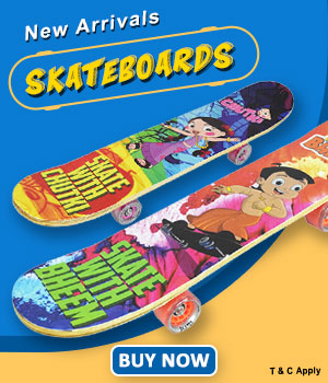 New Arrivals On Chhota Bheem Skateboards
